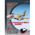 """North American F-86 E-5 """"Sabre"""""""
