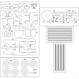 Sherman IC Firefly - szkielet, detale