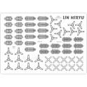 IJN HIRYU - planes set of details