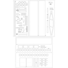 Wagon Wdx - szkielet, detale