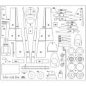 Focke Achgelis Fa-223 - laser cut parts