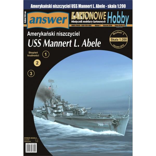 1:200 Answer USS Mannert L. Abele