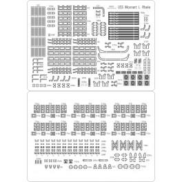 USS Mannert L. Abele - zestaw detali