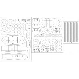 Humber Mk. IV - szkielet, detale