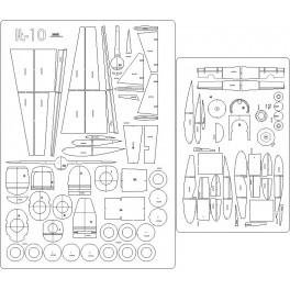 Ił-10 - szkielet