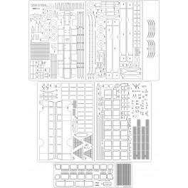SAN H100 A - szkielet, detale, bieżniki
