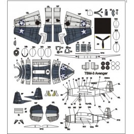 Dodatkowe samoloty do USS TICONDEROGA - Avenger