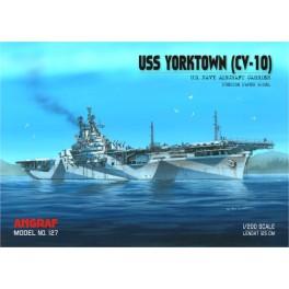 Amerykański lotniskowiec USS YORKTOWN