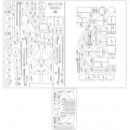 Parowoz Ty 2 - szkielet, wiazary, ostoja, detale