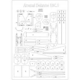 Arsenal Delanne 10.C1 - szkielet
