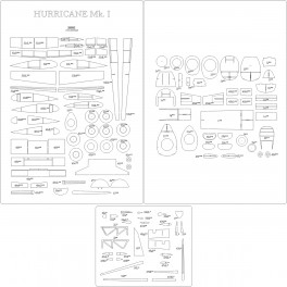 Hurricane Mk.I - szkielet