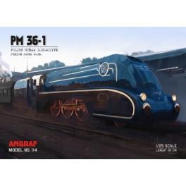 Locomotive OKi 1 model + laser elements