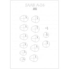 Saan A26 - szkielet