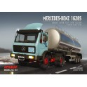 Mercedes 1628S + tanker semitrailer