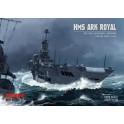 Lotniskowiec HMS Ark Royal - zestaw model + komplet elementów laserowych
