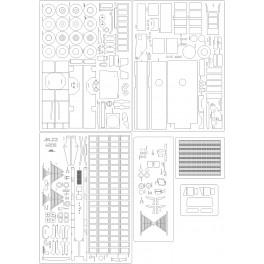 9A52-2 Smerch -  skeleton, details