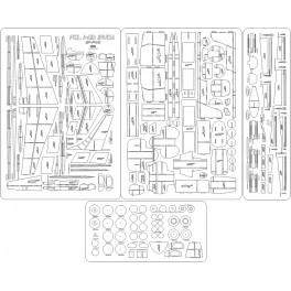 PZL I-22 Iryda SP-PWE - szkielet