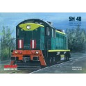 Locomotive SM48 - model set + laser elements