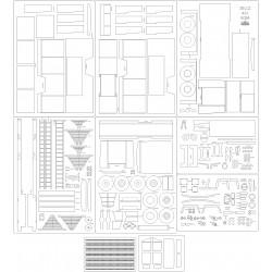 Jelcz 422 GCBA - szkielet, detale, bieżniki