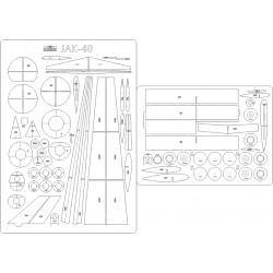 JAK-40 PLL LOT - szkielet, detale