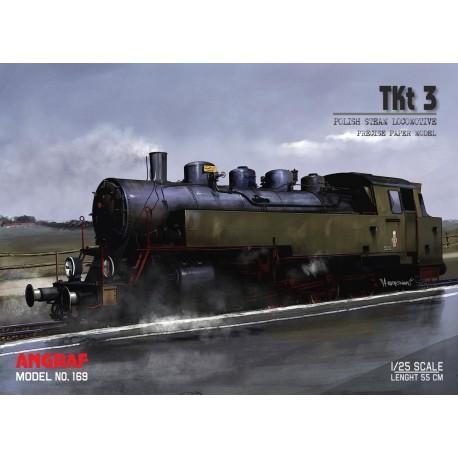 Steam locomotive TKt 3 - full lasercut model