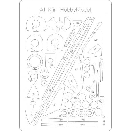 Kfir - laser cut frames HM