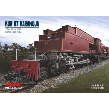 Locomotive KUR 87 KARAMOJA