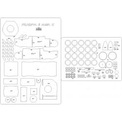 Pz.Kpfw.II Ausf. C - laser cut frames and details