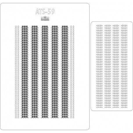 ATS-59 - laser cut tracks