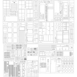 Locomotive 162CD - skeleton, details, plates