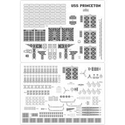 USS Princeton CVL-23 - zestaw detali