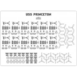 USS Princeton CVL-23 - détails de l'avion