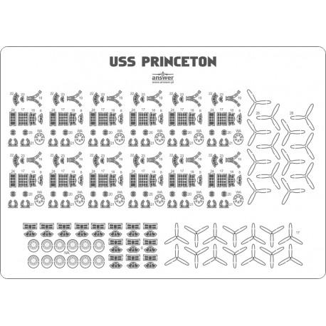 USS Princeton CVL-23 - aircraft details