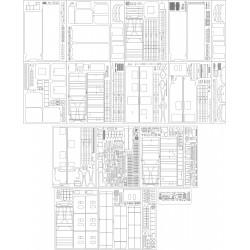 Wagon pocztowy 304C - szkielet, detale, pomosty