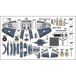 Dodatkowe samoloty do USS WASP - Dauntless