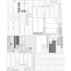 EZT EN 57 Przewozy Regionalne - szkielet, detale, pomosty, półki...