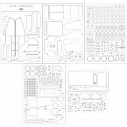 Sd.Kfz. 164 Nashorn - laser cut frames and details