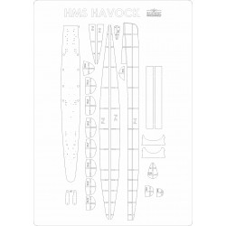 HMS Havock - szkielet