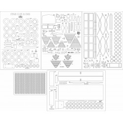 STAR C-25 & D60 - laser cut frames and details
