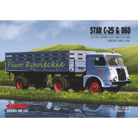 STAR C-25 & D60 Piwo Żywieckie