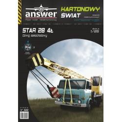 Dźwig STAR 28 4t