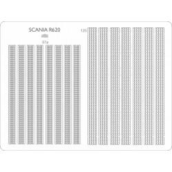 Scania R620 - laser cut treads