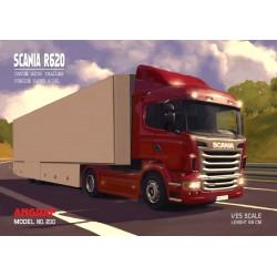 Scania R620 z naczepą