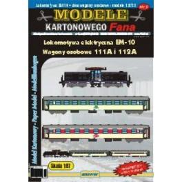 Lokomotywa EM-10 + wagony