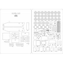 Sd.Kfz. 265 - laser cut frames and details