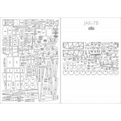 JAK-7B  - laser cut frames