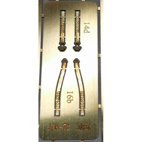 Photo-etched pilot's belts JAK-7B