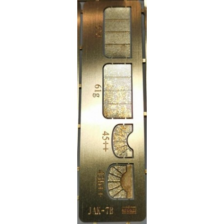 Photo-etched radiator covers JAK-7B