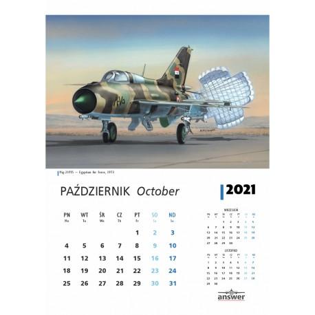 Calendar 2020 MiG-21