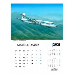 Calendar 2020 passenger planes